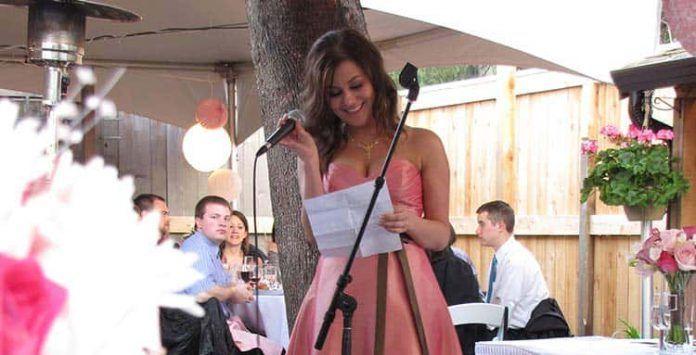Escrito de boda de hermana del novio