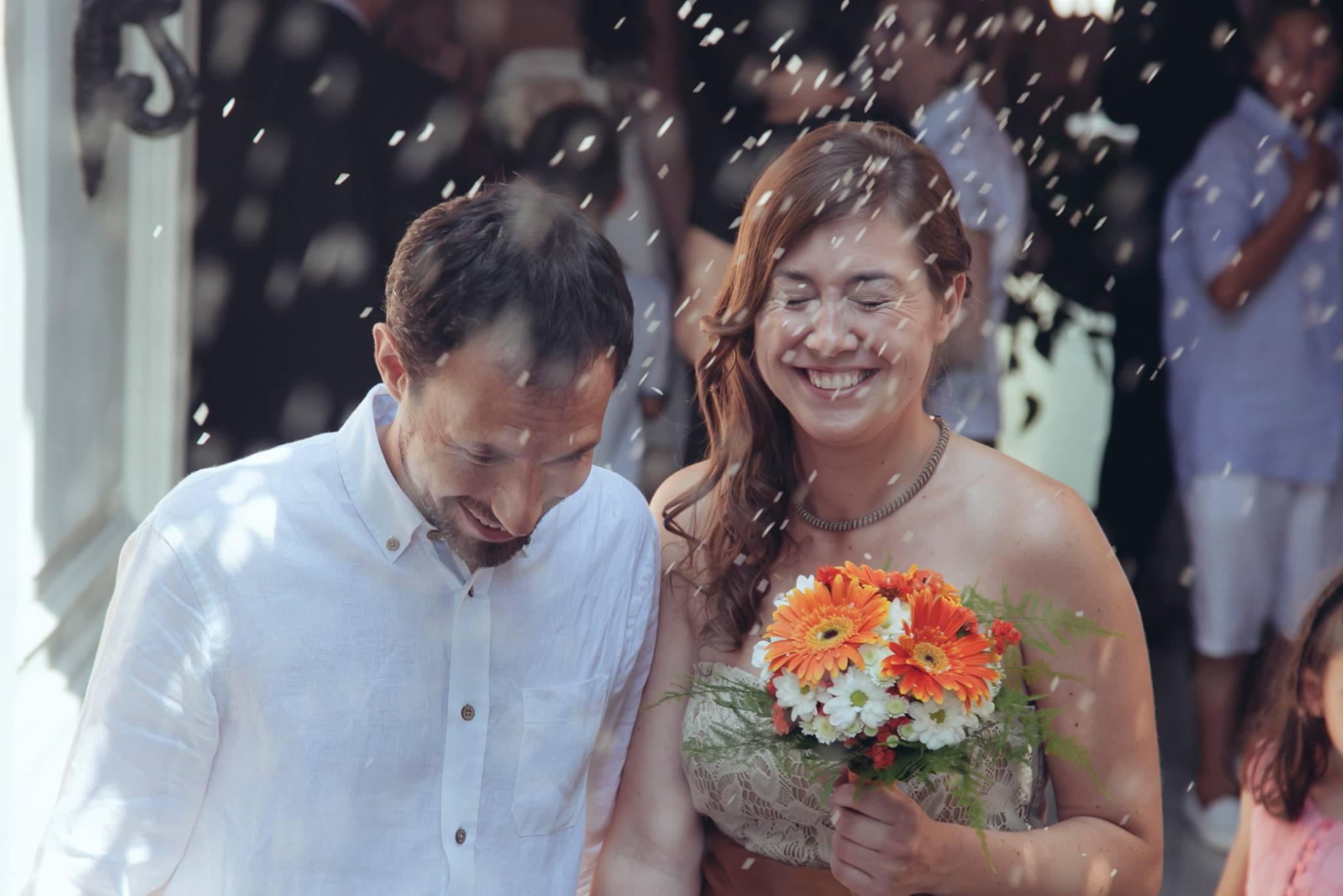 Fotograma de un vídeo de boda