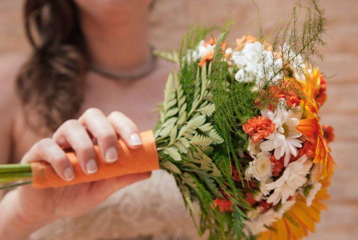 Fotograma de vídeo de boda