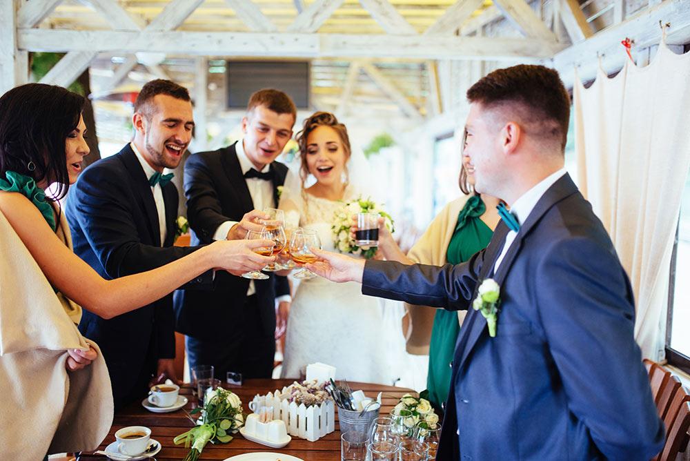 Protocolo en boda según relación